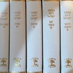 מחזור רינת ישראל -דמוי עור שנהב