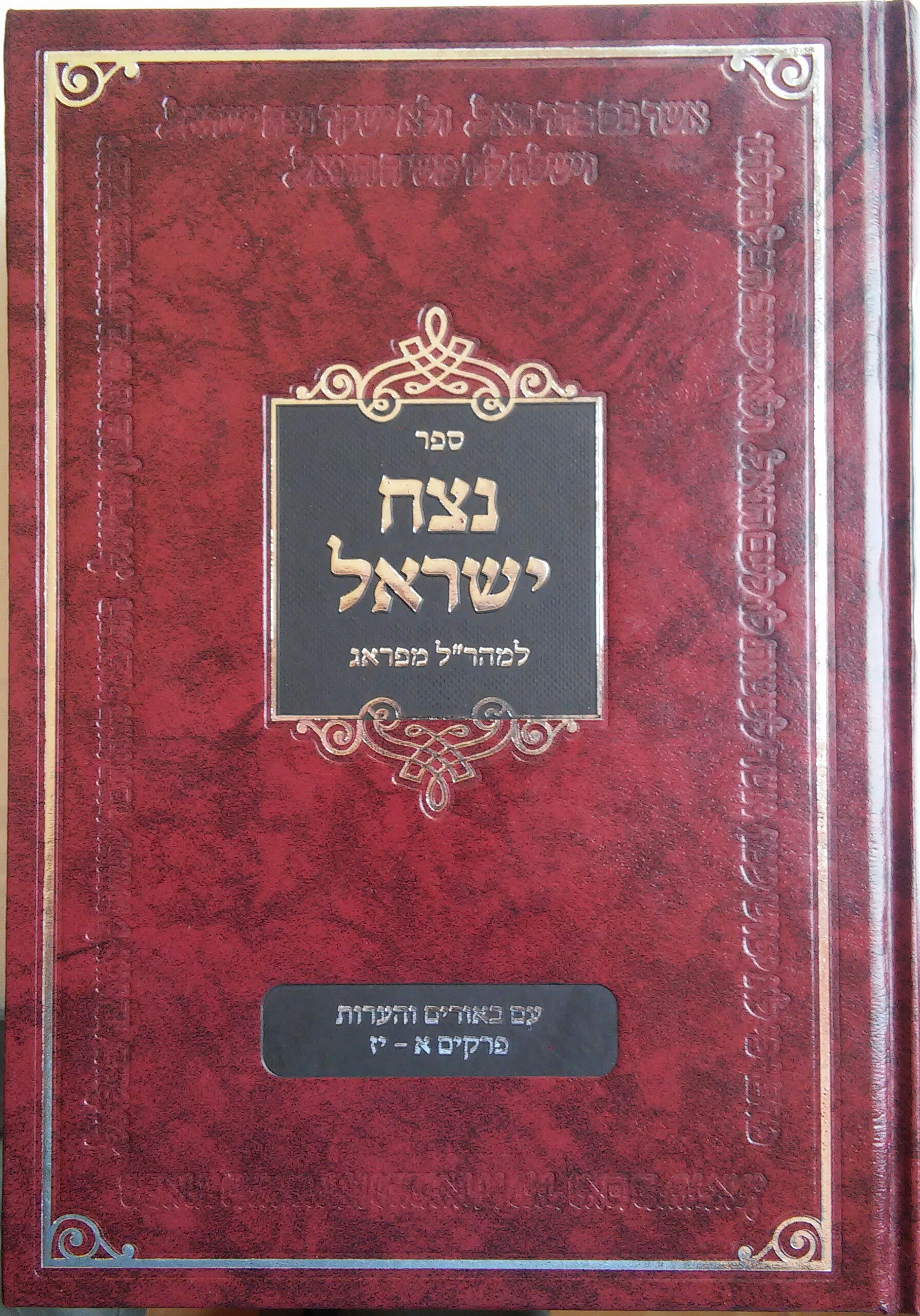 ספר נצח ישראל -אבי טילמן